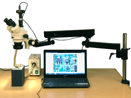 AmScope SM-8TZZ-FOR-10M Digital Professional Trinocular Ster