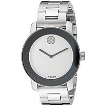 Movado Women's 3600334 Swiss Quartz Silver-Tone Stainless Steel Watch