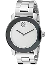 Movado Women's 3600334 Swiss Quartz Silver-Tone Stainless Steel Watch