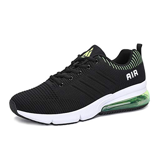 Mens Womens Lightweight Athletic Air Cushion Mesh Running Training Walking Sneakers