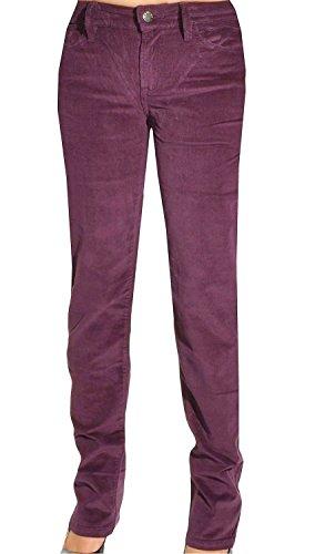 Calvin Klein Jeans Womens Pants Power Stretch Corduroy Straight Leg Slim Fit (6 x 34