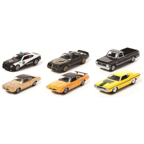 Green Light 1:64 Scale Hollywood Series 2 (Set of 6 Cars)