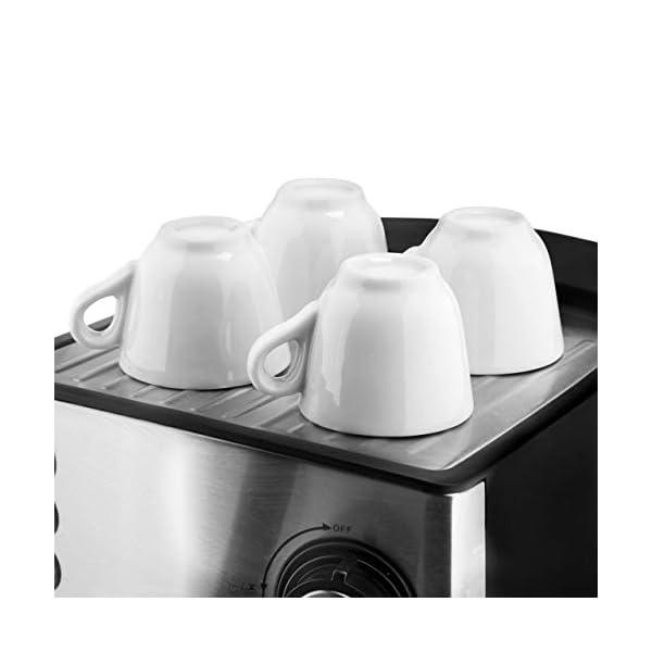 Ufesa CE7240 Macchina caffè espresso, 850 W, Serbatoio estraibile da 1,6 L, 20 bar, 2 opzioni d'uso: Come macchina da… 5