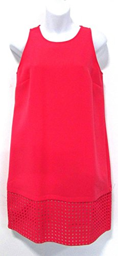 ann-taylor-loft-womens-sleeveless-shift-dress-coral-pink-size-2