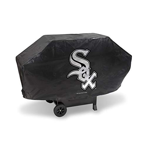 Rico MLB Chicago White Sox Grill CoverDeluxe Grill Cover, Team Colors, One Size