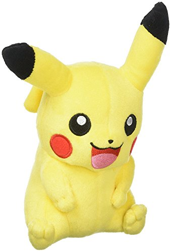 Pokemon Stuffed Pikachu Figure Toy | Plush Animal Toys Gift Set for Babies and Newborns (Toys Evee Pokemon Plush)