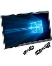 För Raspberry Pi 4-skärm, kapacitiv 5-tums HDMI-pekskärm – 800 x 480 HD-LCD-skärm (stöd för Pi 4 och Pi 3 B +, Windows)