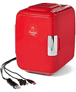 Cooluli Mini Fridge Electric Cooler and Warmer Holiday Edition (4 Liter / 6 Can)