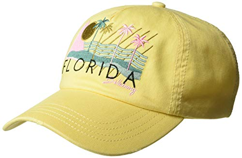 Billabong Women's Surf Local Canvas Hat Yellow Fade One Size