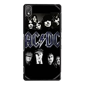 Unique Cool AC DC Phone Case Cover For Sony Xperia Z3 AC/DC Stylish