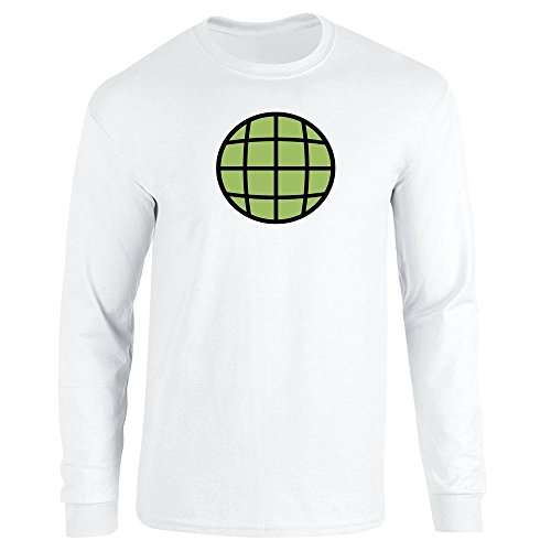 Planeteer Costume White M Long Sleeve T-Shirt by Pop Threads