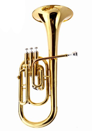 B004NGWERE Fever 2411-1-L Deluxe Alto Horn Lacquer 41G6hAQOI-L