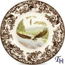 Spode Woodland Dinner Plate(s)-Bald Eagle