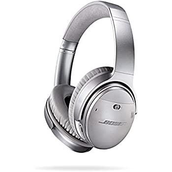383fb987dd0 Bose QuietComfort 35 (Series I) Wireless Headphones, Noise Cancelling -  Silver