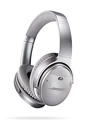 : Bose QuietComfort 35 (Series I) Wireless Headphones, Noise Cancelling - Silver
