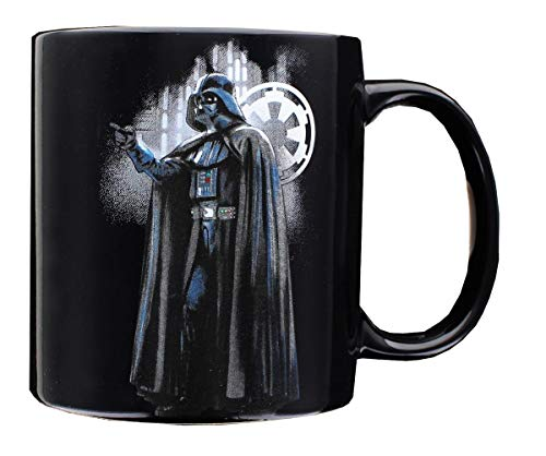 Star Wars SW04118 Darth Vader 20OZ Ceramic Mug, 20 oz, Black ()