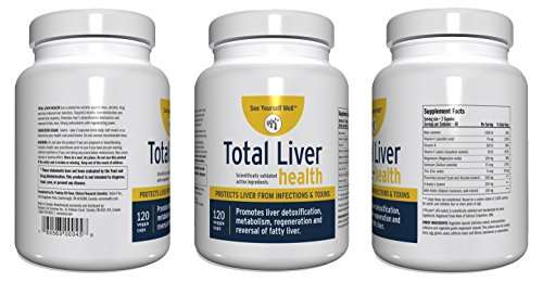 Total Liver Health: Liver Cleanse, Detox, Regeneration, Fatty Liver Reversal. Protection from Infections & Toxins. Trademarked Ingredient Picroliv. by See Yourself Well (Image #4)