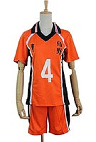 Smile Style Haikyuu Karasuno High School Uniform Jersey Volleyball Cosplay (Haikyuu Cosplay Costume)