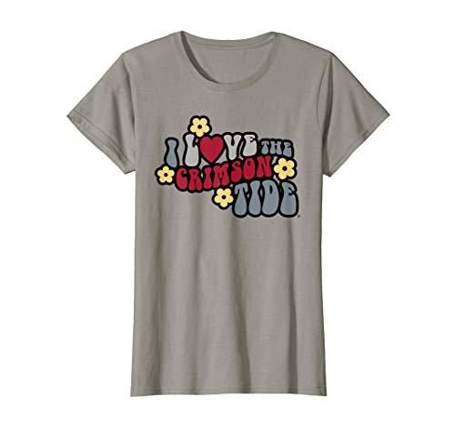 Alabama Crimson Tide Cute Women's NCAA T-Shirt -