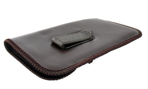 a3c466f6d6a Full Clip Soft Eyeglass Case in Brown - Import It All