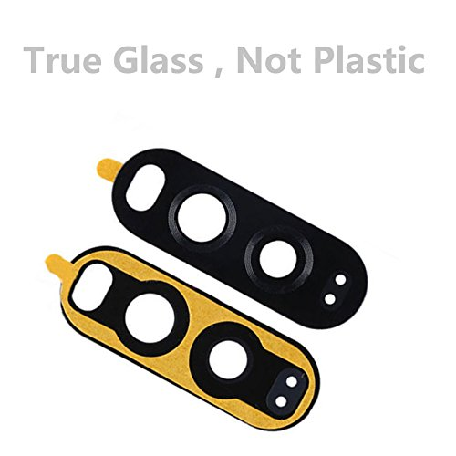 Dogxiong Black Back Rear Camera Really 100% True Glass Lens Cover + Adhesive Fix Replacement Parts for LG G5 H850 VS987 H820 LS992 H830 US992