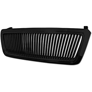 Armordillo for 2005 Ford Excursion Vertical Grille Gloss Black