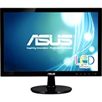 Asus Vs197t. P 18.5 Led Lcd Monitor . 16:9 . 5 Ms . Adjustable Display Angle . 1366 X 768 . 16.7 Million Colors . 250 Nit . 50,000,000:1 . Wxga . Speakers . Dvi . Vga . 21 W . Black . Epeat Gold, Erp, J. Moss (Japanese Rohs), Rohs, Weee Product Type: Computer Displays/Monitors