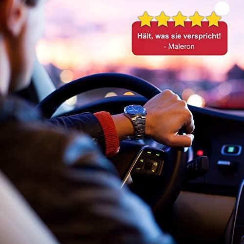 CARTECO Universal Steering Wheel Lock made of hardened steel locking bar anti theft protection