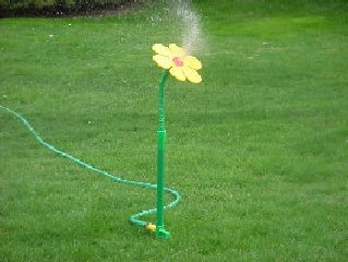 Crazy Daisy Moving Lawn Sprinkler Lawn And Garden Sprinklers