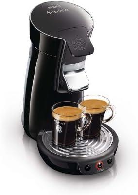 Philips Senseo Viva Café - Cafetera monodosis, color negro: Amazon ...
