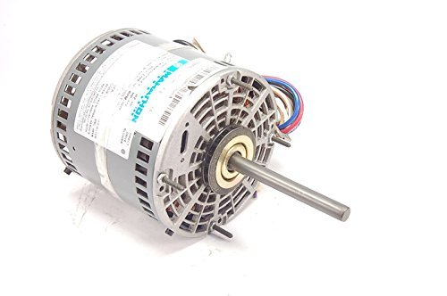 Marathon X005 48Y Frame Open Air Over 48A11O1756 Direct Drive Motor 1/2 hp, 1075 RPM, 208-230 VAC, 1 Phase, 3 Speeds, Ball Bearing, Permanent Split Capacitor, Thru-Bolt ()