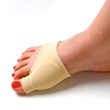 Gel TinkSky elástica resistente con forro dedo gordo juanete Protector funda blanda para separador de pastillas incluido: Amazon.es: Electrónica
