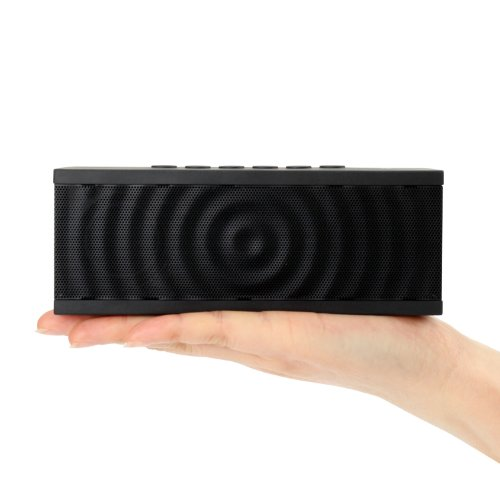 Bolse 12W NFC Wireless Portable Wireless Bluetooth Speaker, 8 hour Playtime with Built-in Speakerphone for iPhone 5S, 5, iPad Air, Mini, Samsung Galaxy S5, S4, HTC, Tablets, PC