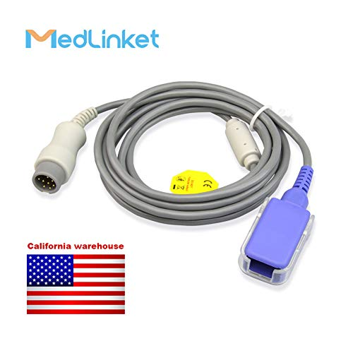 Extension Distal - Mindray Datascope 0010-20-42712 Compatible SpO2 Extension Adapter Cable