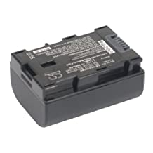VINTRONS Rechargeable Battery 890mAh For JVC GZ-HM430, GZ-MS110U, BN-VG107U, BN-VG108U, GZ-E565, GZ-MS230AU