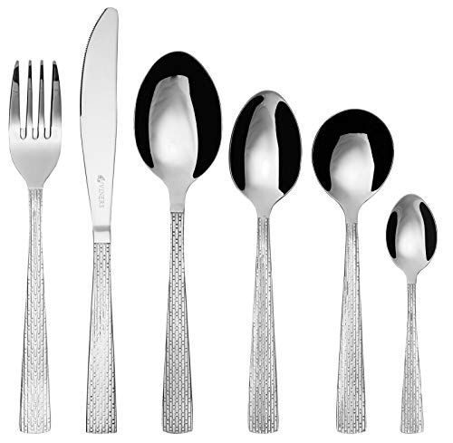 (Viners Solar Stainless Steel Cutlery Set-32 Piece, Silver)
