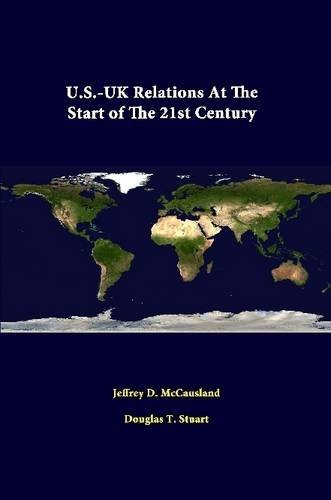 Download U.S.-Uk Relations At The Start Of The 21st Century PDF