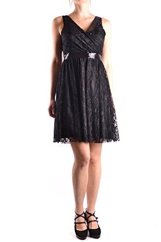 Fracomina Schwarz Kleid Polyamid MCBI4870005O Damen wrwf68