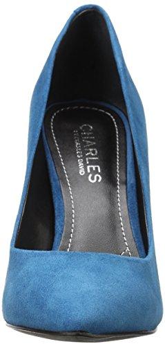 Charles David , Escarpins pour femme Bleu Sarcelle Foncé