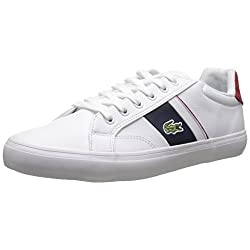 Lacoste Marcel LCR Classic Sneaker (Little Kid/Big Kid)