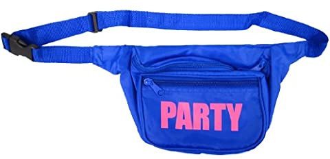Neon Fanny Pack (Blue)