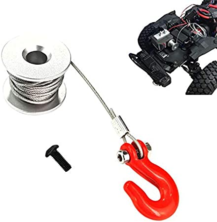 RC Car Upgrade Parts 25T Steering Gear Winch Wheel for TRX4 RC4WD D90 D110