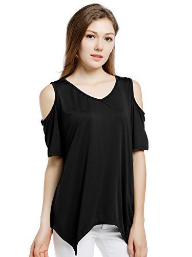Blooming Jelly Womens Shoulder Asymmetrical