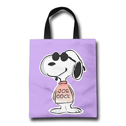 Acosoy Snoopy Joe Cool Canvas Tote Bags/Shopping Bags/Bea...