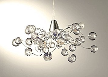 Kronleuchter Outdoor ~ Kronleuchter transparent bubble lampenschirm handgefertigt