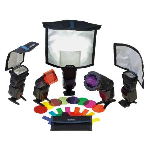 Rogue Photographic Design ROGUEKIT-M Master Lighting Kit (Multi-colored) by Rogue Photographic Design