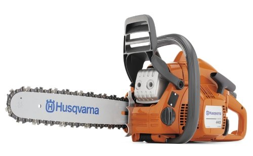 Chainsaws Products : Husqvarna 440E 16-Inch 40.9cc 2-Stroke X-Torq Gas Powered Chain Saw
