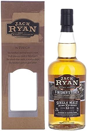 Jack Ryan 12 Years Old Finisher'S Touch Single Malt Irish Whiskey Madeira Finish 46% Vol. 0.7L In Giftbox - 700 ml