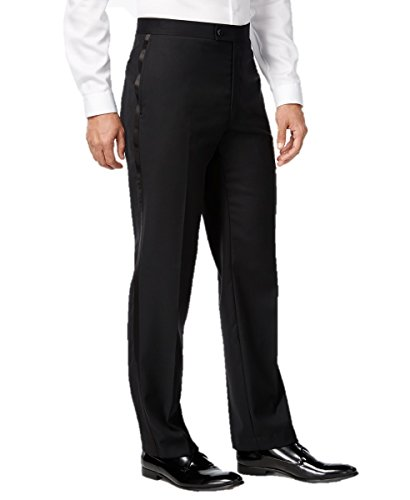 Elaine Karen Premium Tuxedo Pants for Men- Flat Front - Comfort Fit Expandable Waist - Size 42 by Elaine Karen