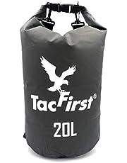 TacFirst Dry Bag Seesack, wasserdichter Packsack mit Fast-Fold Verschluss 2L / 3L / 5L / 10L / 15L / 20L / 25L / 30L wasserfester Trockenbeutel